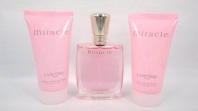 ผลการค้นหารูปภาพสำหรับ Lancome Miracle bath and shower gel