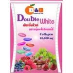 Double White ดับเบิ้ลไวท์ รส บลูเบอร์รี่+ราสพ์เบอร์รี่ สูตรเข้มข้น