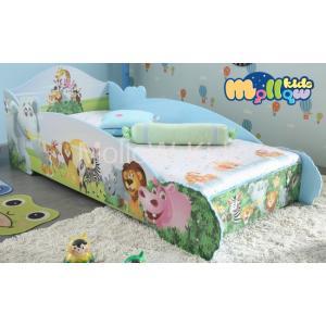 เตียงเด็ก รุ่น Wild Animal ลายการ์ตูนสวนสัตว์