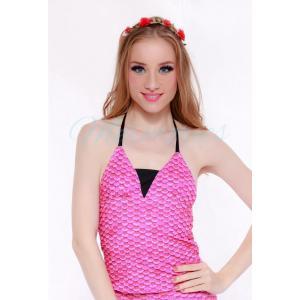 เสื้อแบบผูกคอ Pinky Scale