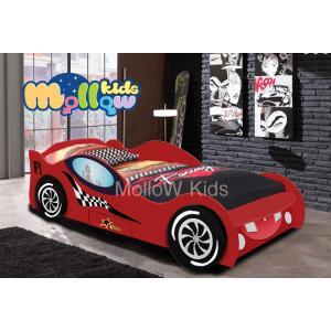 เตียงรถสปอร์ต เตียงเด็ก รุ่น Cool Kid Sport car สีแดง