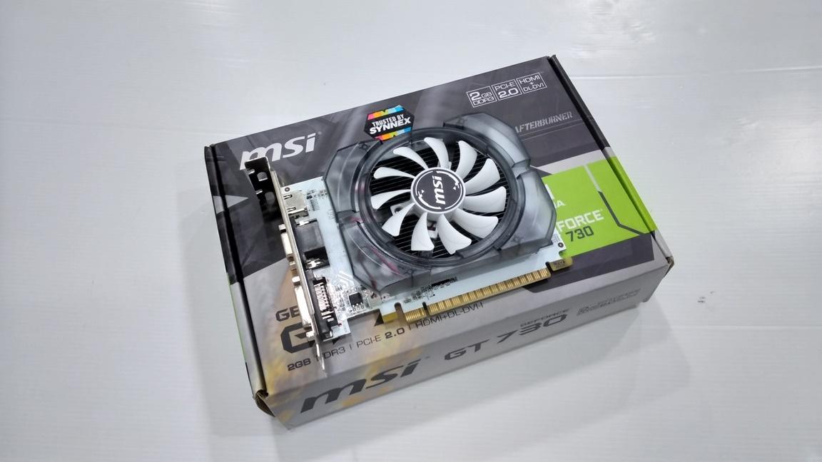 MSI GT730 2GB. DDR-3