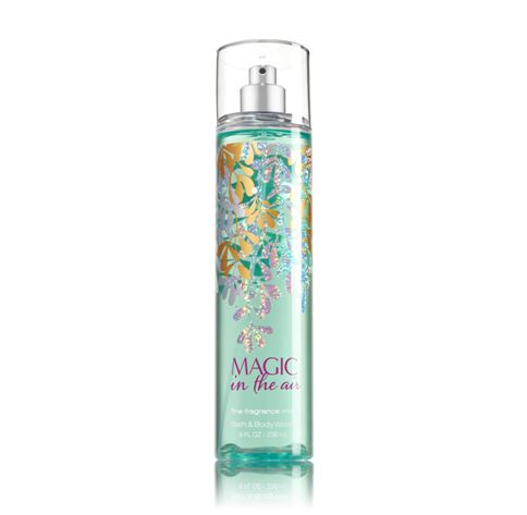 **พร้อมส่ง**Bath & Body Works Magic in the Air Fine Fragrance Mist 236 ml. สเปร์ยน้ำหอมที่ให้กลิ่นติดกายตลอดวัน กลิ่นหอมของดอกลิลลี่วนิลลา โทนดอกไม้หอมนุ่มๆค่ะ ,