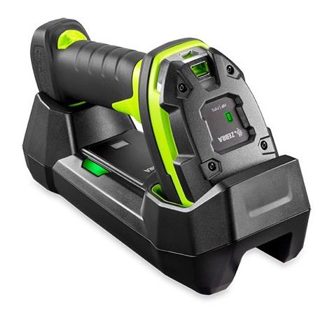 เครื่องอ่านบาร์โค้ด ZEBRA DS3608-HP Rugged Green Vibration Motor USB KIT