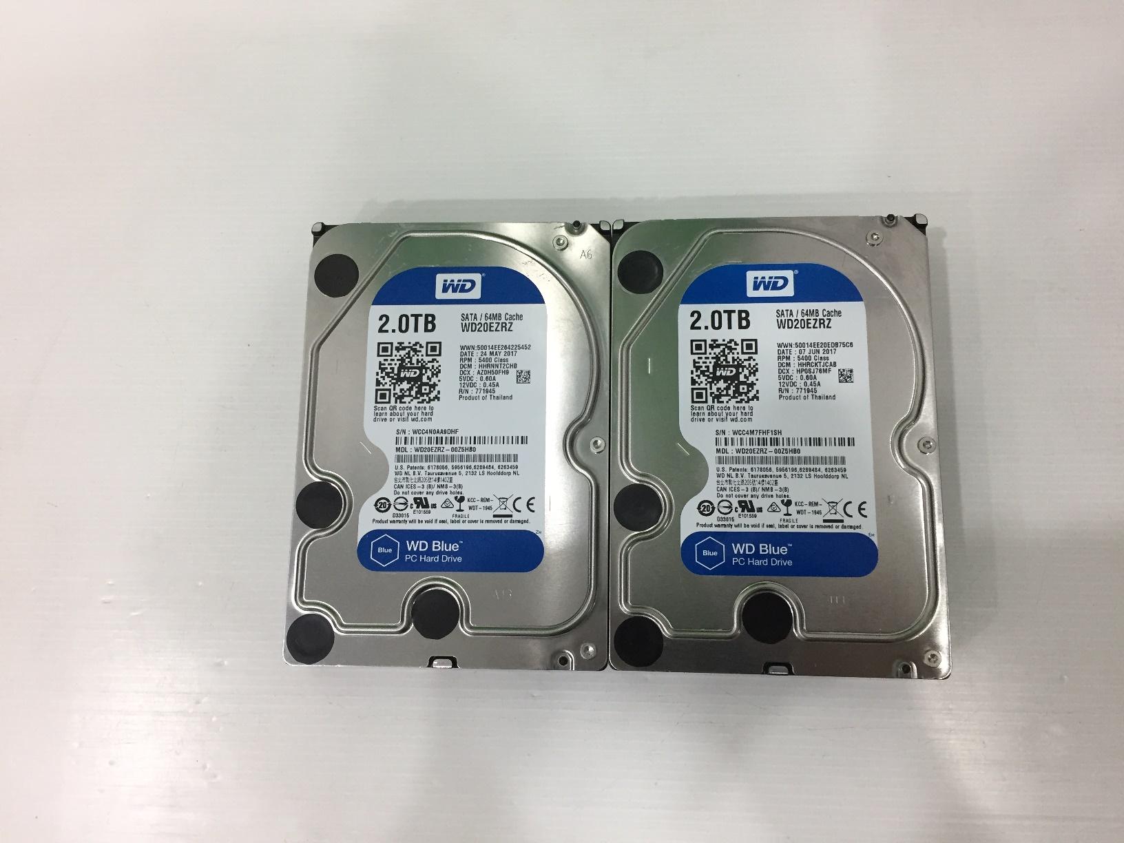 2.0 TB HDD WD SATA-3 BLUE (WD20EZRZ)