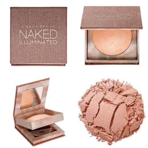 **พร้อมส่ง**Urban Decay Naked Illuminated Shimmering Powder for Face and Body # Aura แป้งไฮไลท์ เนื้อเนียนนุ่ม บางเบา มาพร้อมตลับและแปรงในตัว พกพาสะดวก ใช้ง่าย ใช้ได้ทั้งใบหน้าและผิวกาย ช่วยเพิ่มมิติให้แก่ใบหน้า ใช้ไล้สันจมูกให้แลดูคม หรือไล้หน้าผากแล ,