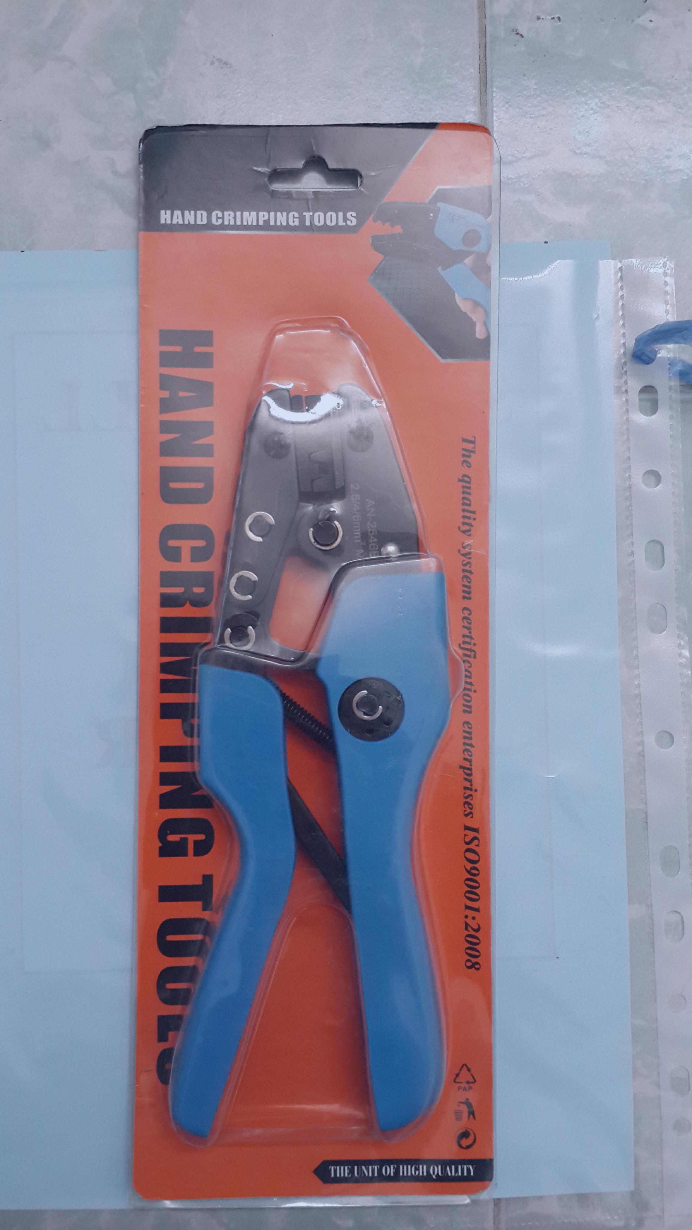 ชุดคีมย้ำสายไฟ_Solar crimping Tool Kit RX-K1