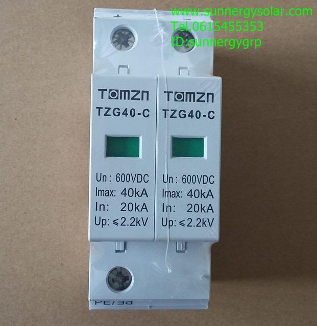 Solar DC Surge 600V