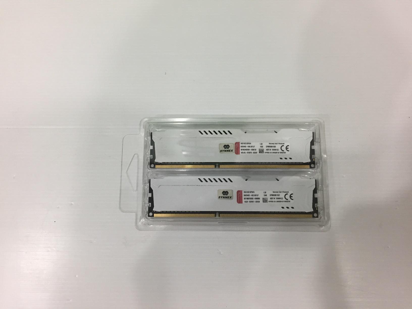 8GB. DDR-3 1600 KINGSTON FURY HyperX