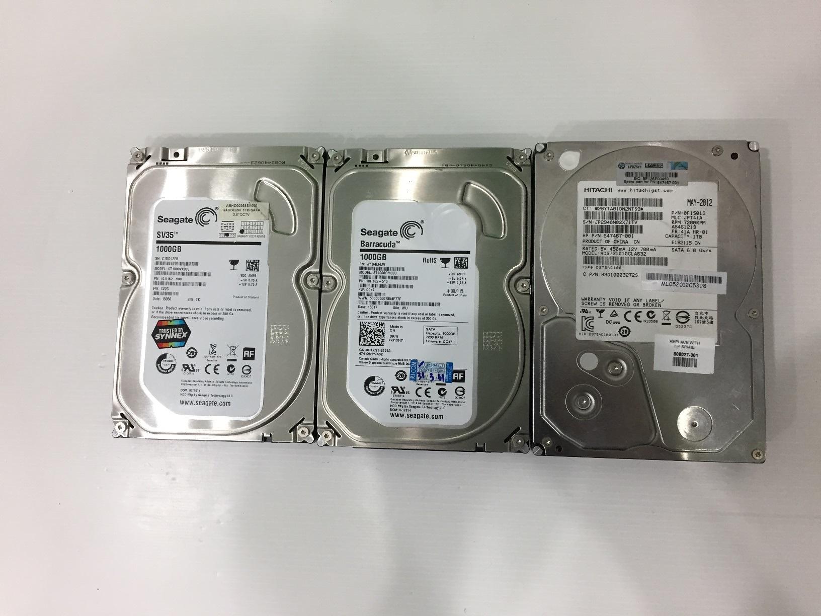 """1TB. 3.5"""" PC มือสอง"""