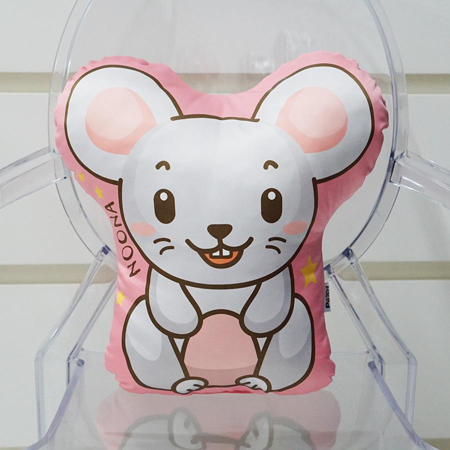 หมอนสั่งทำใส่ชื่อ ลายหนู - Mouse