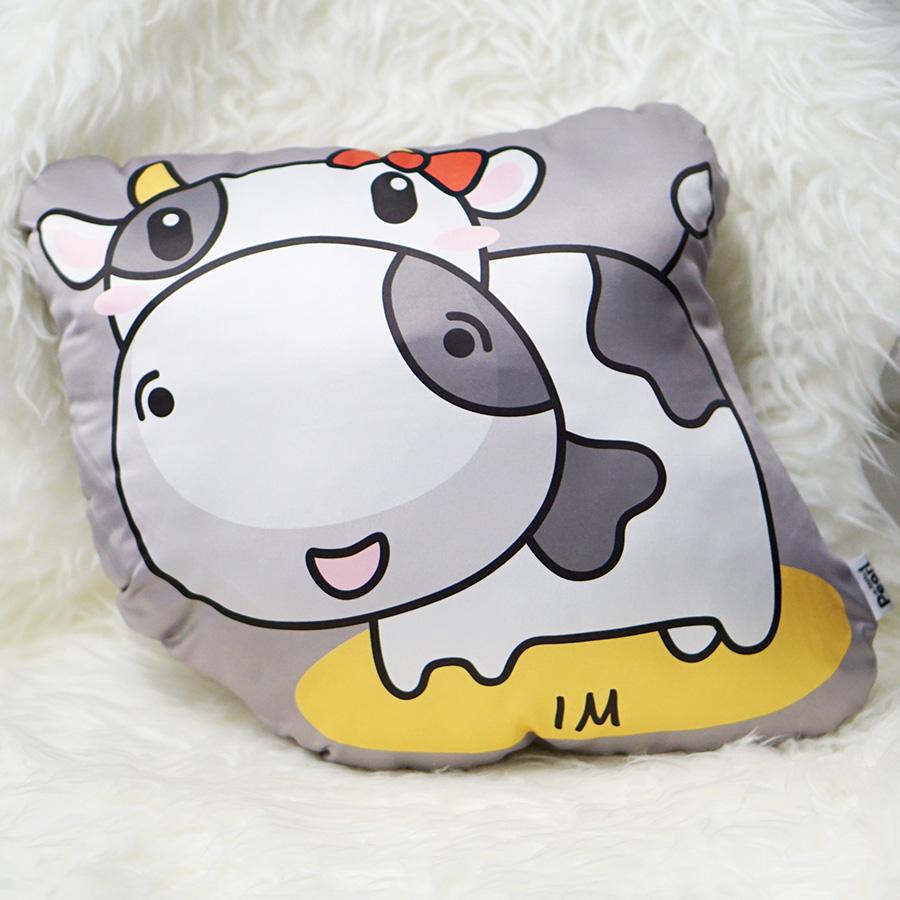 หมอนสั่งทำใส่ชื่อ ลายวัว