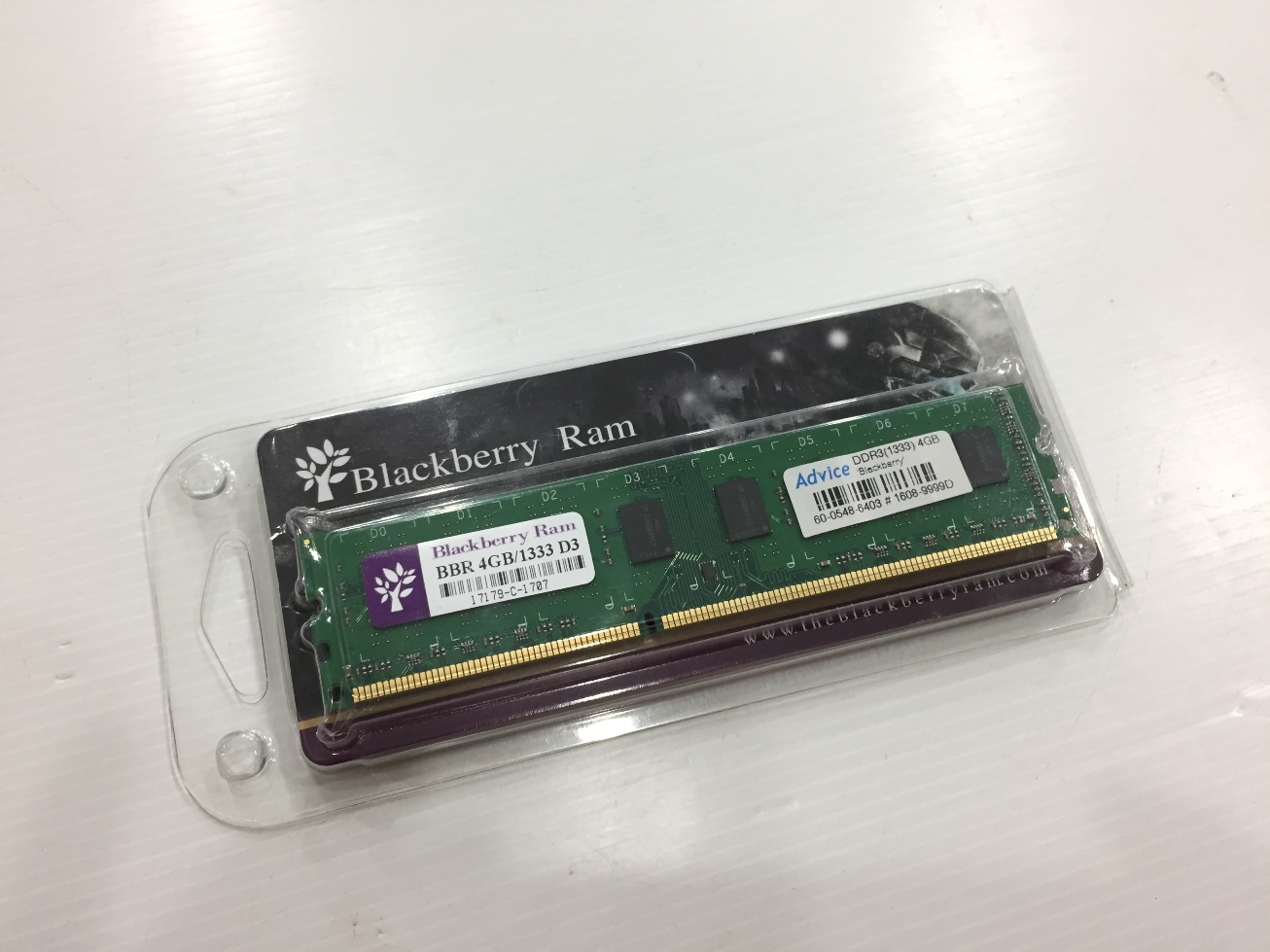 Blackberry 4GB. DDR-1333 16chip