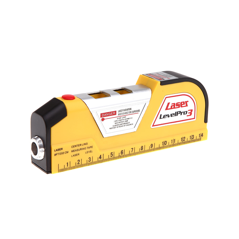 วัดระดับน้ำเลเซอร์ Level PRO 3 (มีตลับเมตรในตัวยาว 2.5 เมตร)