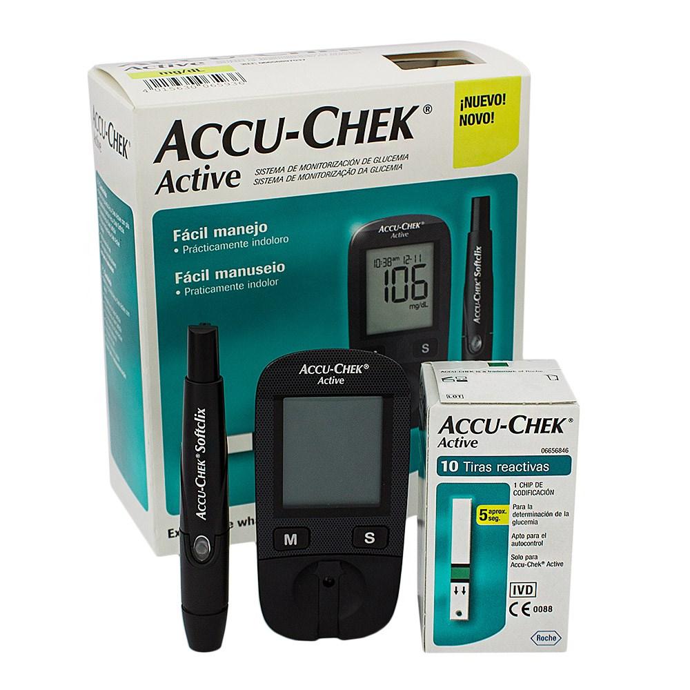 เครื่องตรวจน้ำตาล Accu Chek Active