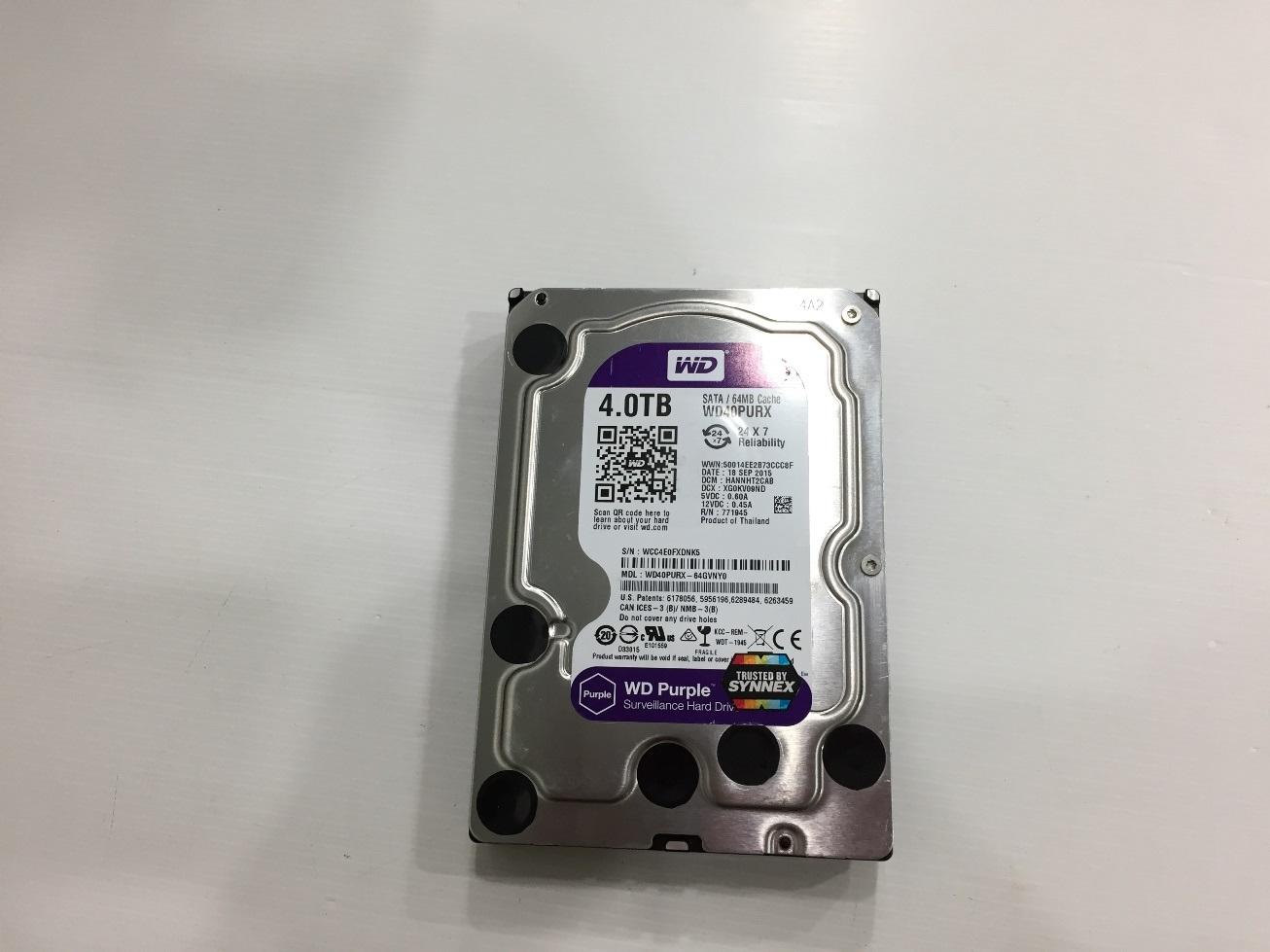 4TB. WD Purple
