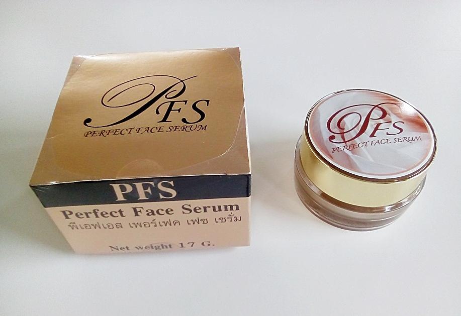 PFS ( Perfect Face Serum) พีเอฟเอส เพอร์เฟค เฟซ เซรั่ม ผลิตภัณฑ์บำรุงผิวหน้า