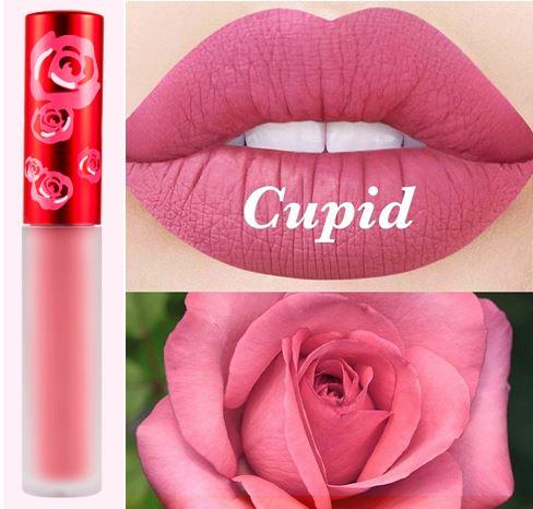 *พร้อมส่ง*Lime Crime Velvetines Liquid Matte Lipstick # Cupid สีนู้ดชมพูแสนหวาน สีสวยในเซ็ท True Love ที่สาวๆเรียกร้องอยากให้ทำแท่งเดี่ยวขายแยกออกมา ลิปสติกเนื้อลิควิด ที่ทาออกมาจะเป็นโทนสีด้านๆ สวยมากๆ ติดทนทั้งวัน โดดเด่นด้วยเม็ดสี ที่แน่น ชัดเจน ไม่ตกร