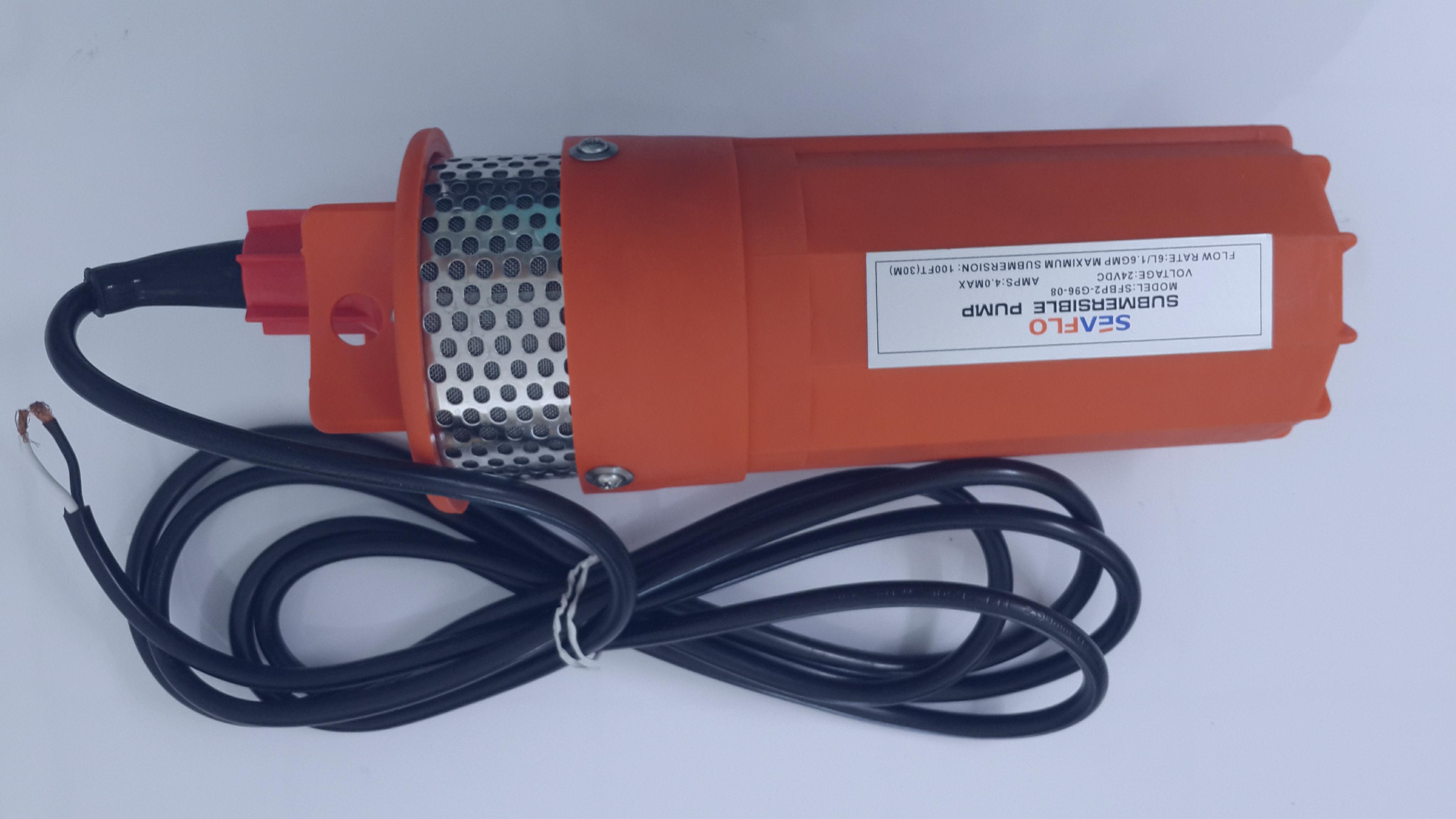 ปั๊มน้ำ 24V/6L/1.6GMP