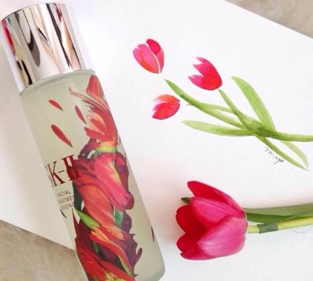 "SK-II Facial Treatment Essence ""RED FLOWER #LimitedEdition"" ปริมาณ 215ml."