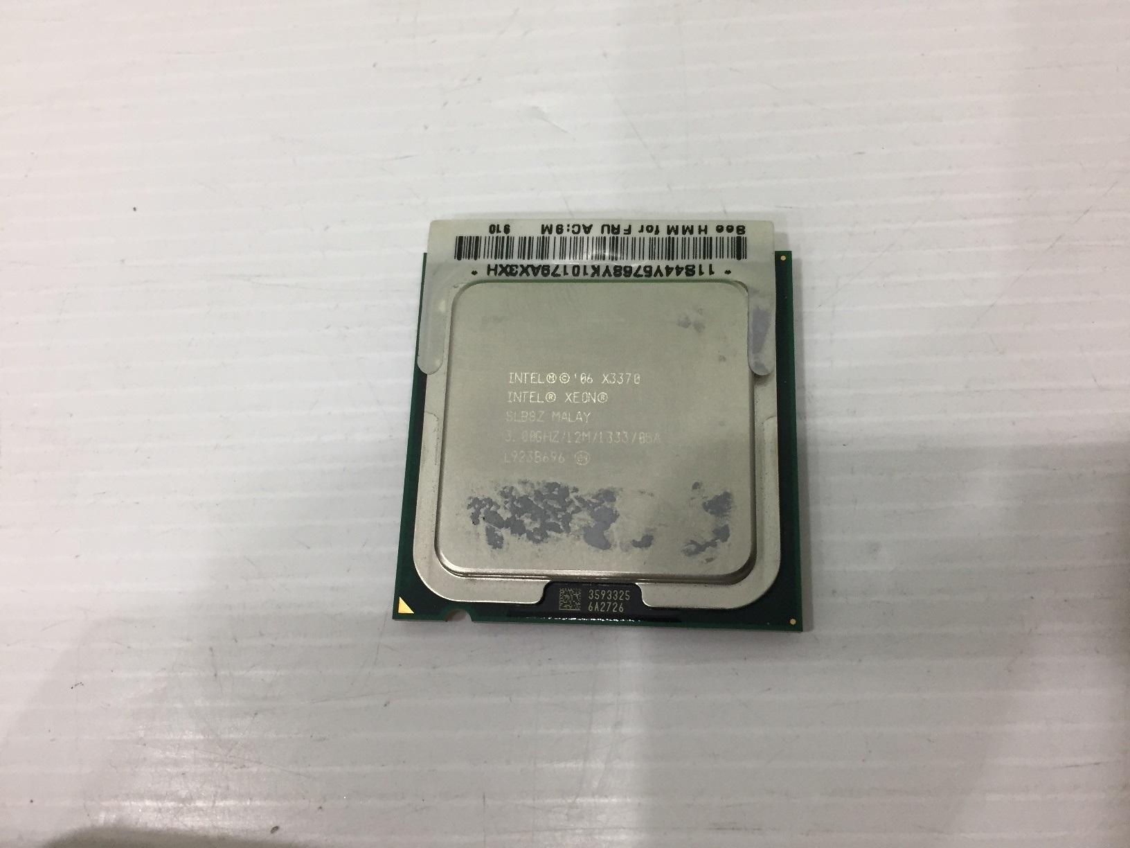 Intel® Xeon® X3370 แคช 12M, 3.00 GHz, 1333 MHz FSB