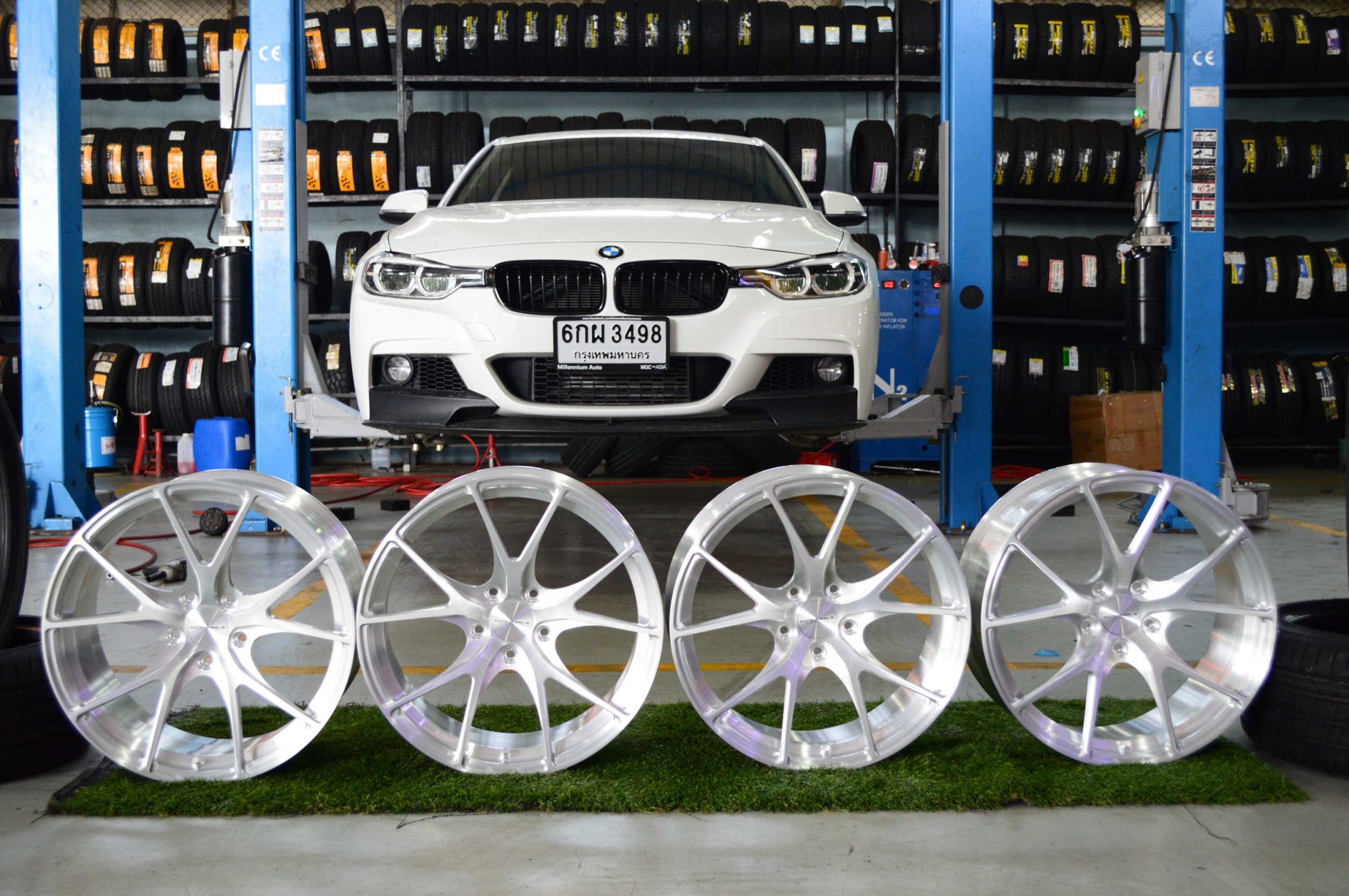 """ล้อแท้ FACE WHEEL MAX07 19"""" For BMW"""