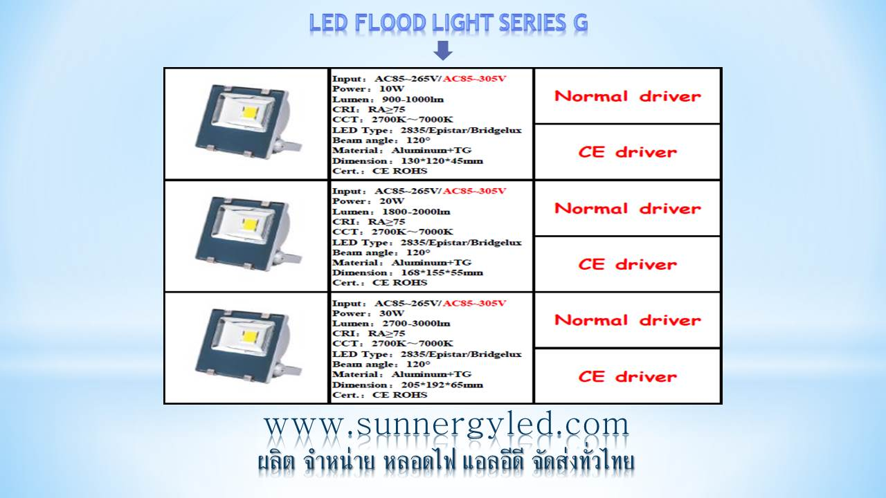 LED flood light STC-QF-FLG20W
