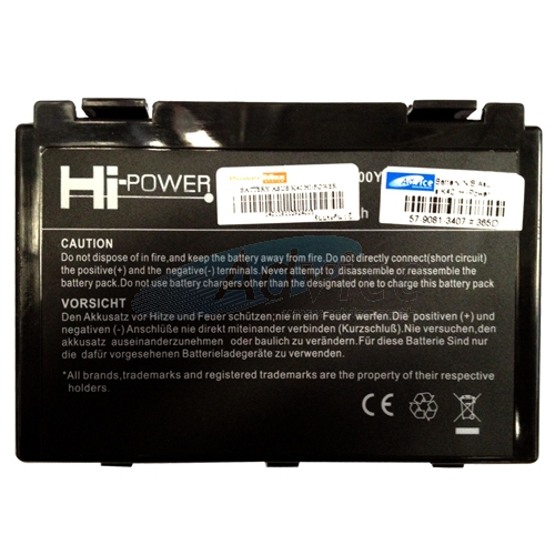 "Battery NB Asus K40 ""Hi-Power"""
