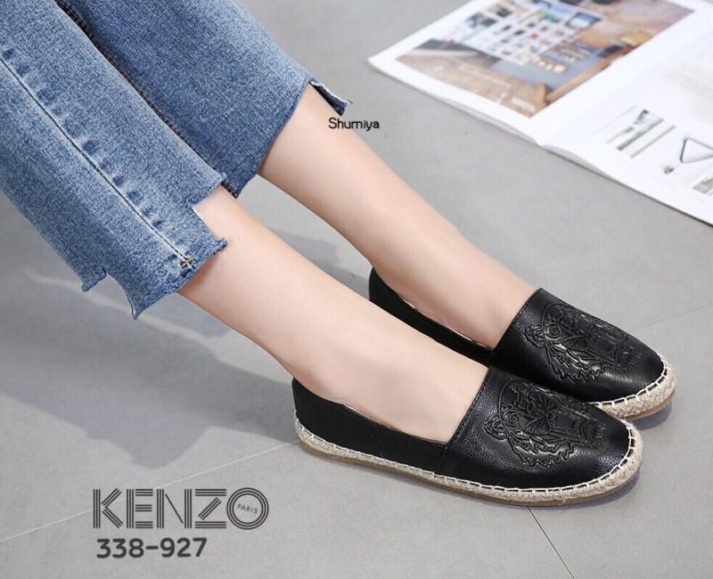 รองเท้า Kenzo Espadrilles (สีดำ)