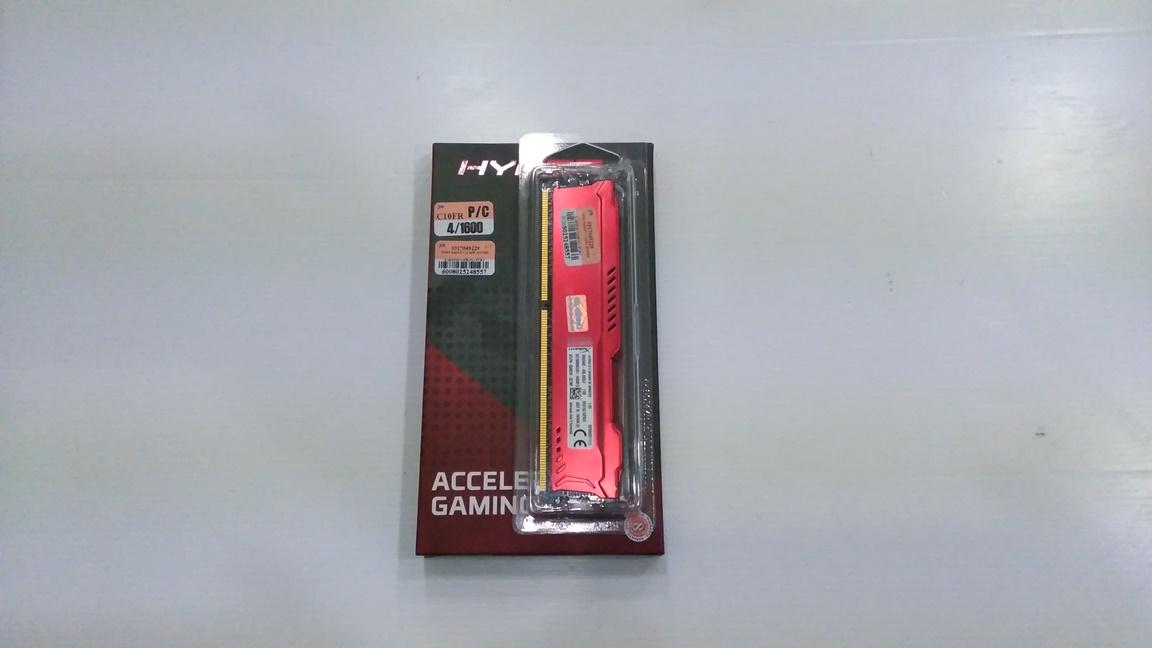 KINGSTON HyperX 4GB. DDR-3 1600