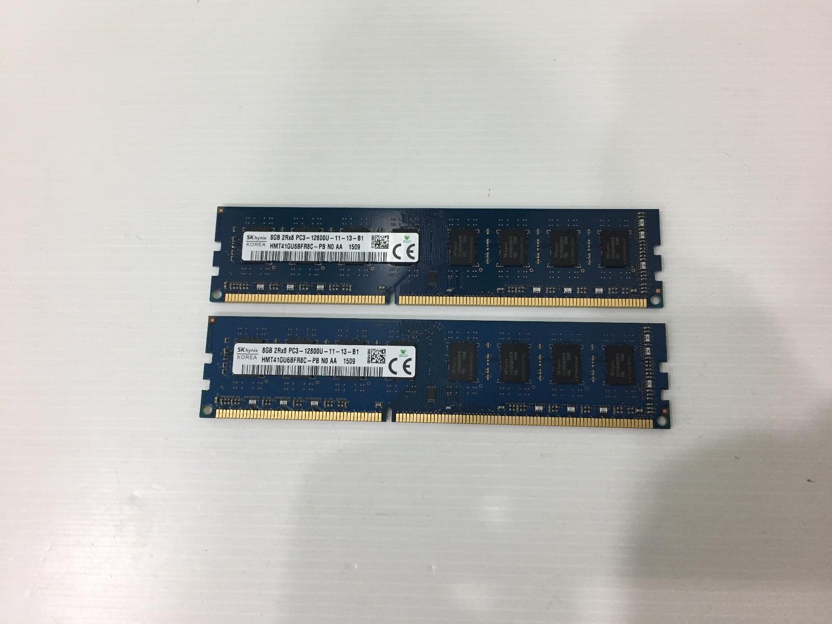 8GB. DDR-3 1600 SK Hynix