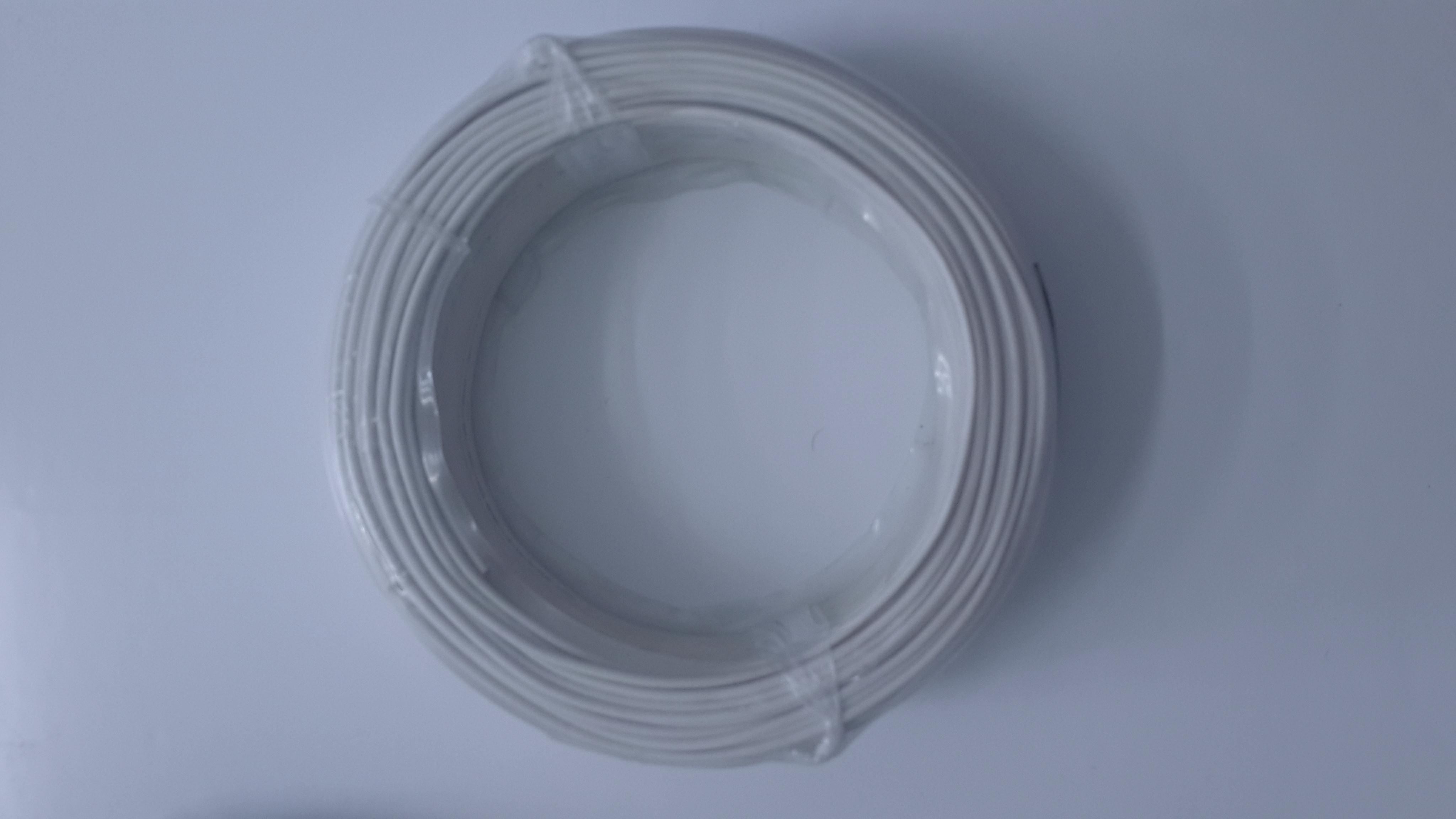 สายไฟโซล่าเซลล์_WIRE THW 1*1.5 mm2 White