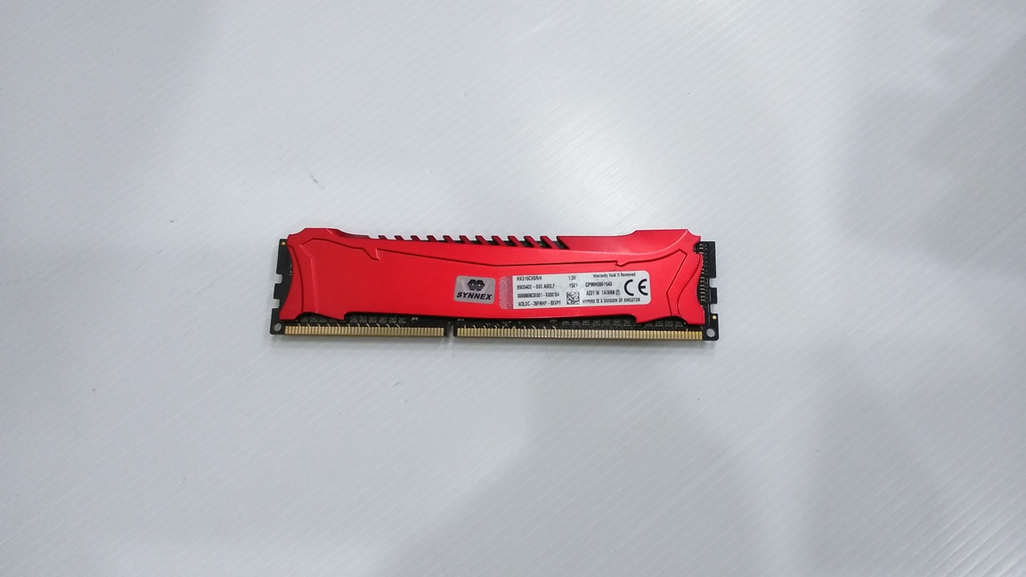 KINGSTON 4GB. DDR-3 1600