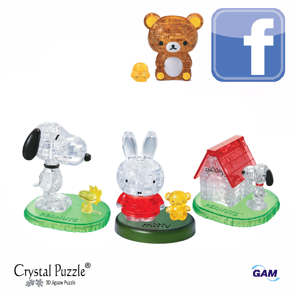 Facebook : 3D Crystal Puzzle Thailand