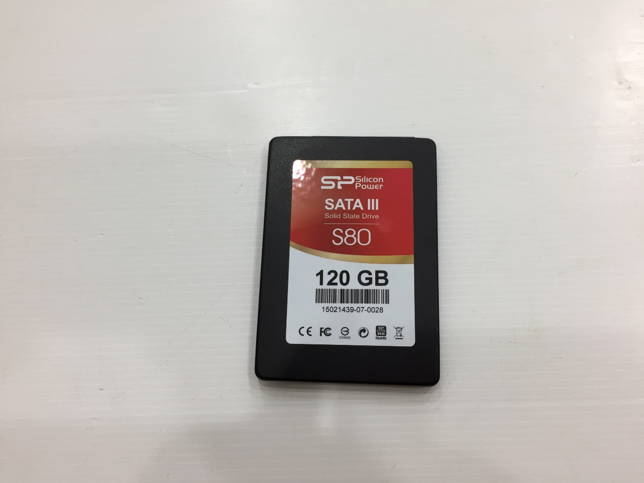 SSD 120GB. Silicon Power S80