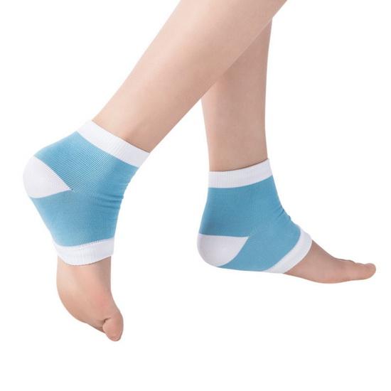 ถุงเท้าเสริมเจลบำรุงส้นเท้าแตก