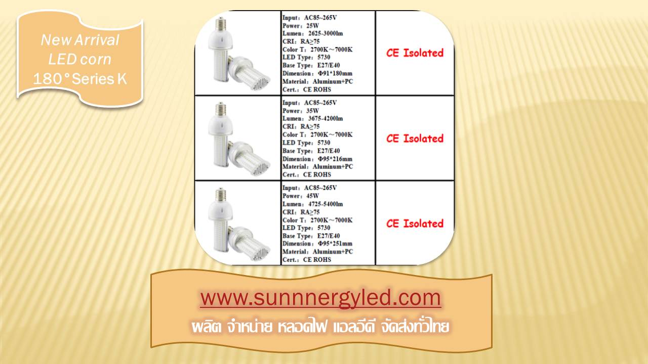 LED corn light STC-QF-CLK45W