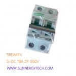 Beaker แบบ MCB_S-DC ขนาด 16A 550V 2P