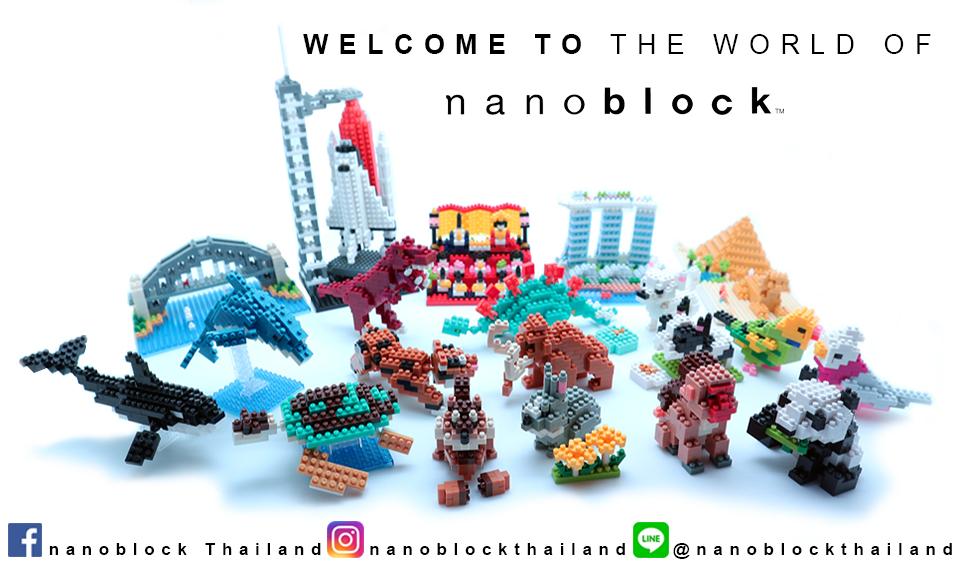 nanoblock Thailand