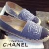 พร้อมส่ง : รองเท้า Chanel Espadrilles (สียีนส์)