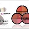 **พร้อมส่ง*City Color Glam Quad ซิตี้คัลเลอร์ แกลม ควอด ตลับใหญ่สุดคุ้มมาพร้อมกับ 4 เฉดสี ที่จัดสรรเฉดมาให้อย่างลงตัว เนื้อฝุ่นเกลี่ยง่าย เม็ดสีแน่น ติดทนตลอดทั้งวัน สามารถใช้เฉดดิ่งหน้า ปัดแก้ม ตลับเดียวตอบโจทย์ความสวยได้อย่างประทับใจ มีให้เลือก 2 เฉดสี