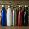 (พรีออเดอร์) กระบอกน้ำสุญญากาศสแตนเลสสตีล 2 ชั้น น้ำร้อน-น้ำเย็น สีเมทัลลิก สีฟ้าเข้ม สีขาว สีเงิน สีแดง สีดำ