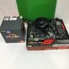 AMD RYZEN3 1200 + ASROCK A320M HDV ครบกล่อง JIB05/2021