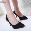 รองเท้าคัทชูส้นสูง Style Dior (สีดำ)