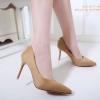 รองเท้าคัทชูส้นสูง Style Dior (สีแทน)