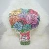 หมอนช่อกุหลาบ Rose Bouquet