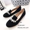 รองเท้า Loafer Style MIUMIU (สีดำ)