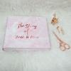 """อัลบั้ม 100 รูป (4x6"""") ลายหินอ่อนสีชมพู - สั่งทำใส่ข้อความ - Pink Marble"""