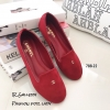 รองเท้า Loafer Style Chanel (สีแดง)