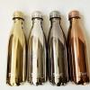 (พรีออเดอร์) กระบอกน้ำสุญญากาศสแตนเลส ผิวเมทัลลิกสี่สี สีทอง สีไททาเนี่ยม สีทองคำขาว สีทองเข้ม สำเนา